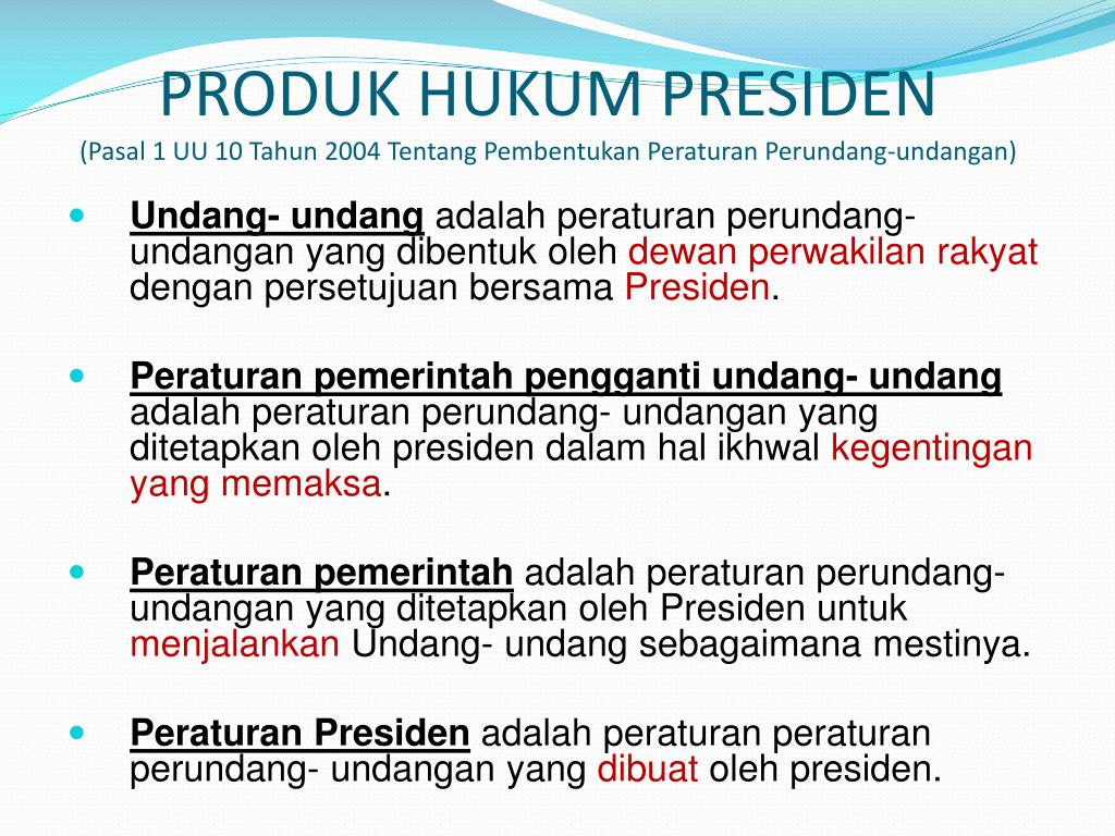 Ppt Hukum Tertulis Peraturan Perundang Undangan Powerpoint Presentation Id 5644561