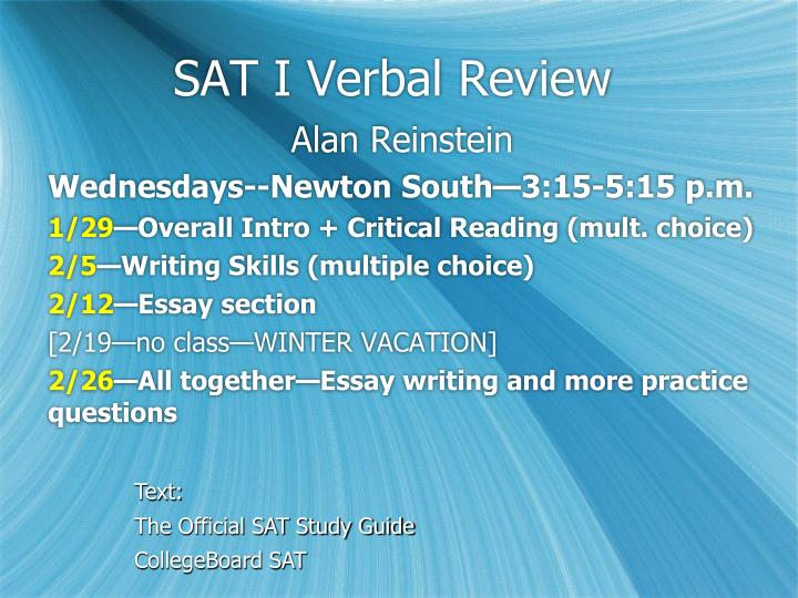 12 point sat essays How to write the new (redesigned) sat essay date score of 2-12 role in persuading the reader of the main point while the sat asks you to consider.