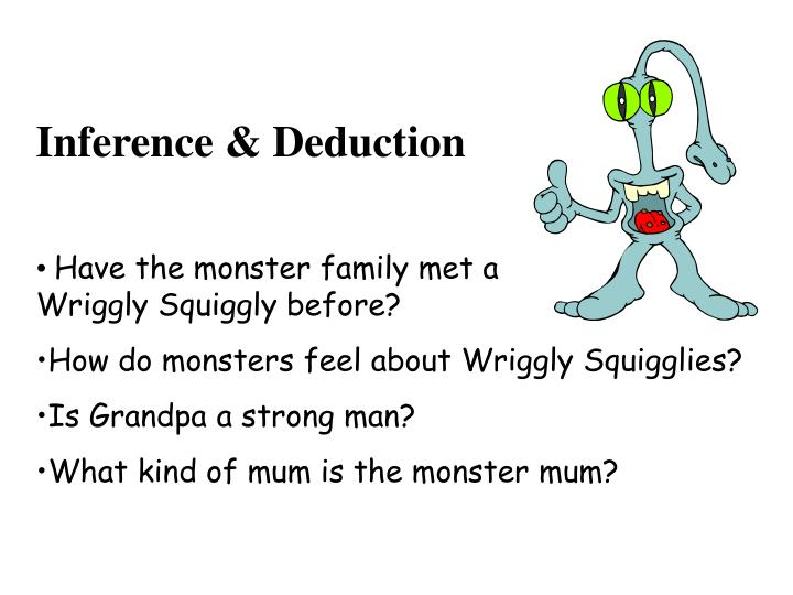 Inference & Deduction