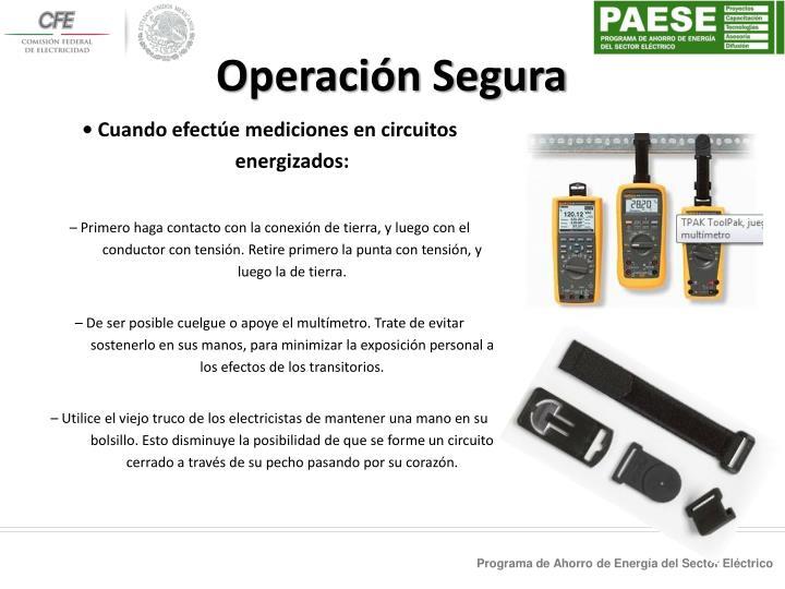 Operación Segura