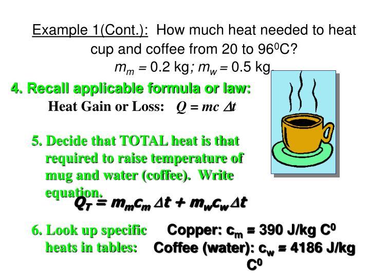 Heat Gain or Loss: