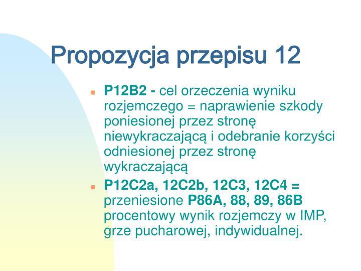 Propozycja przepisu 12