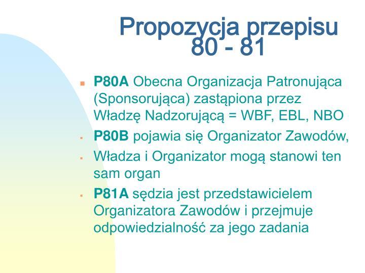 Propozycja przepisu 80 - 81