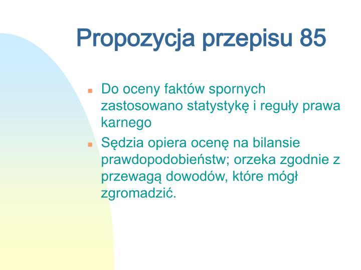 Propozycja przepisu 85