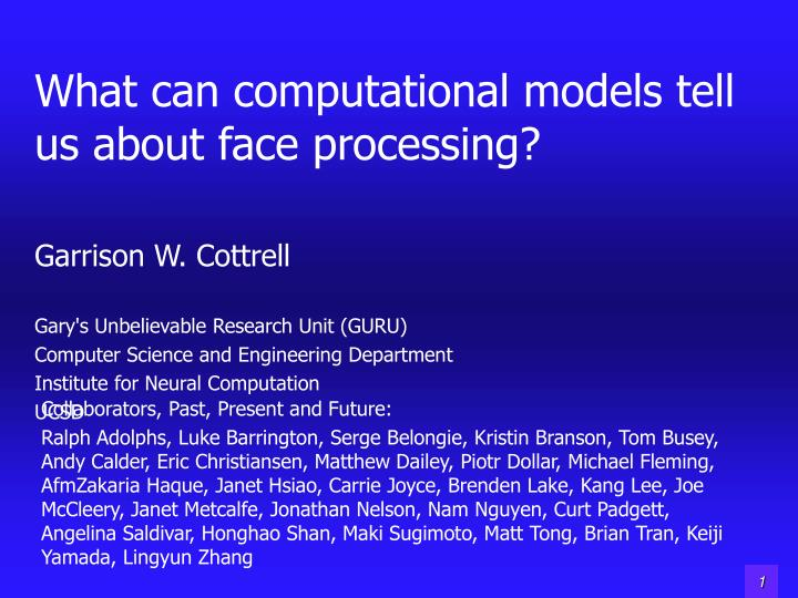 what can computational models tell us about face processing n.