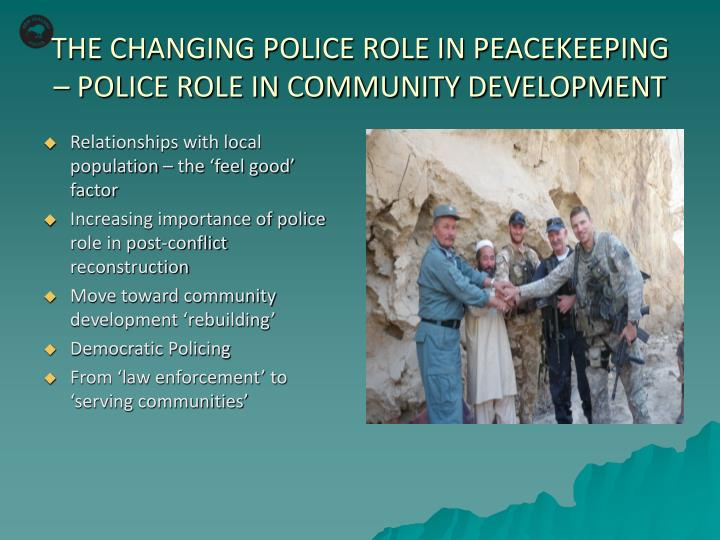 role of police in democracy Home essays role of police in india role of police in india democracy, government, police pages: 1 nelson mieles police role.