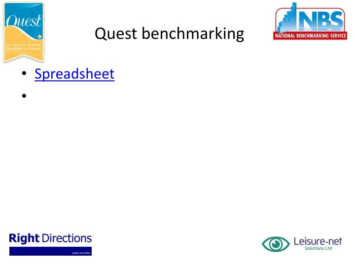 Quest benchmarking