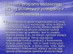elementy programu badawczego nei wg williamsona powi zanie z teori neoklasyczn