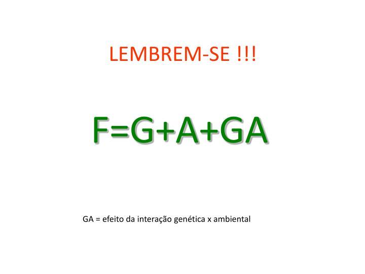LEMBREM-SE !!!