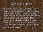 yochanan 8 37 39