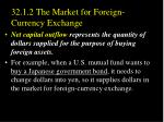 32 1 2 the market for foreign currency exchange2