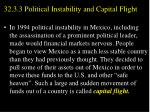 32 3 3 political instability and capital flight