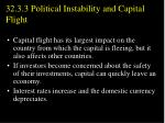 32 3 3 political instability and capital flight2