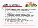 visits to campus1