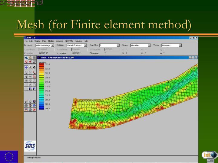 Mesh (for Finite element method)