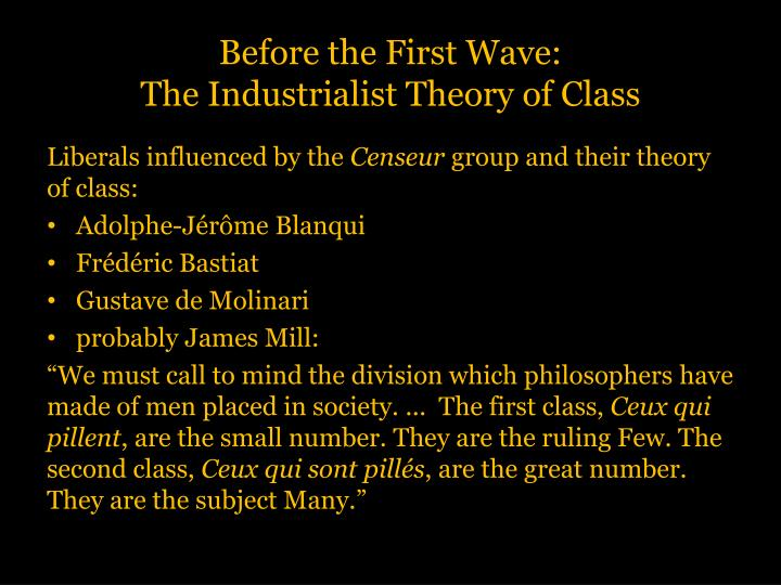 Before the First Wave:
