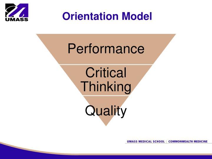 Orientation Model
