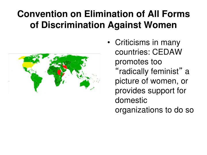 Convention on Elimination of All Forms of Discrimination Against Women