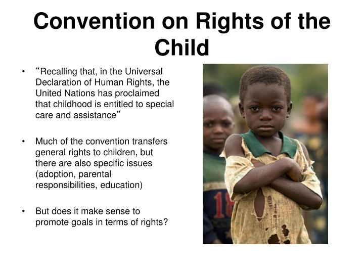 Convention on Rights of the Child