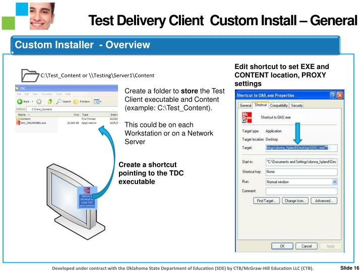 Test Delivery Client