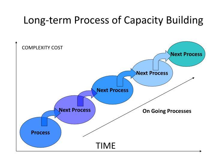 Long-term Process of Capacity Building