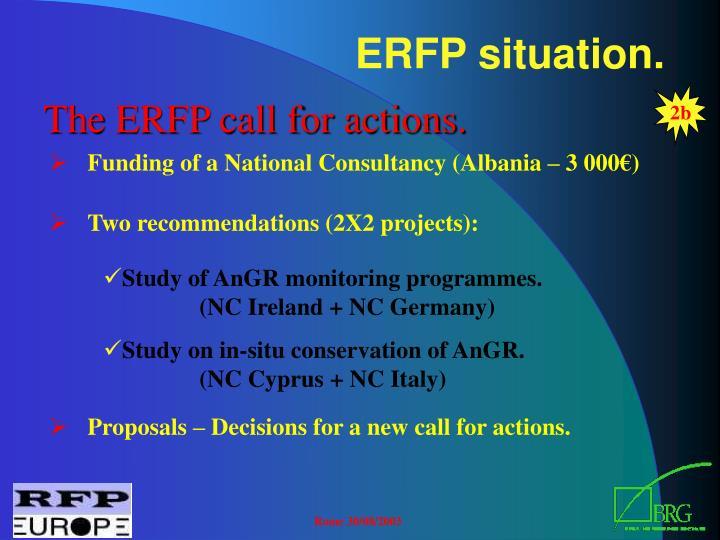 ERFP situation.