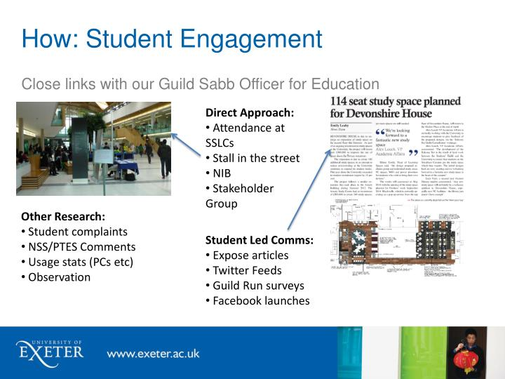 How: Student Engagement