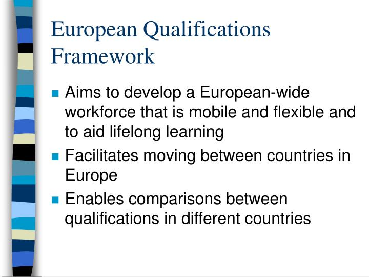 European qualifications framework
