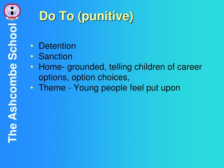 Do To (punitive)