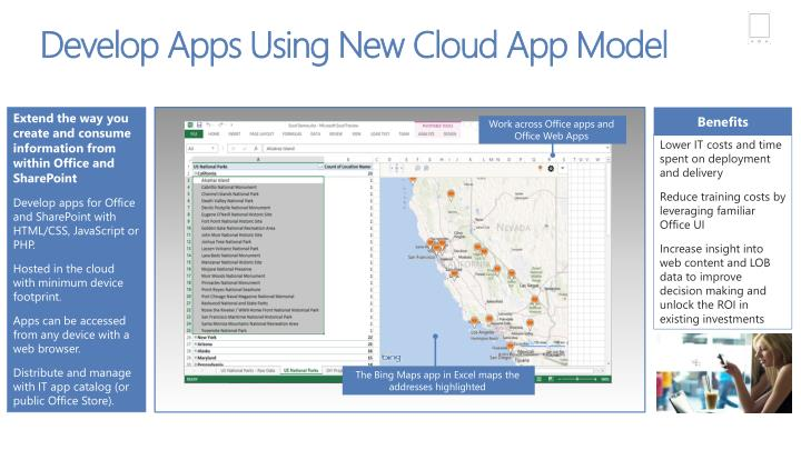 Work across Office apps and Office Web Apps