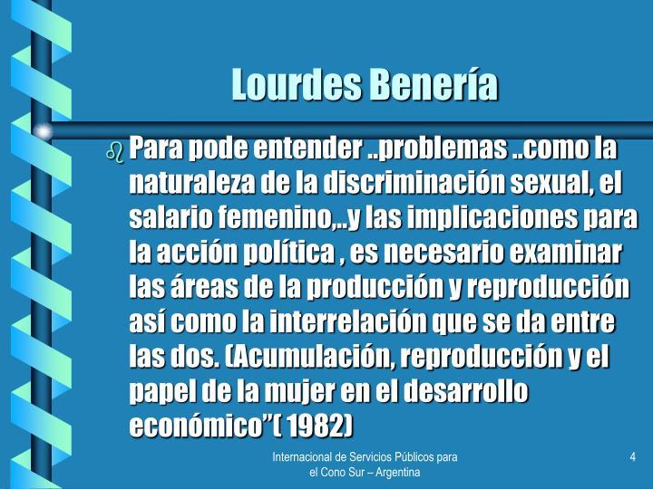 Lourdes Benería