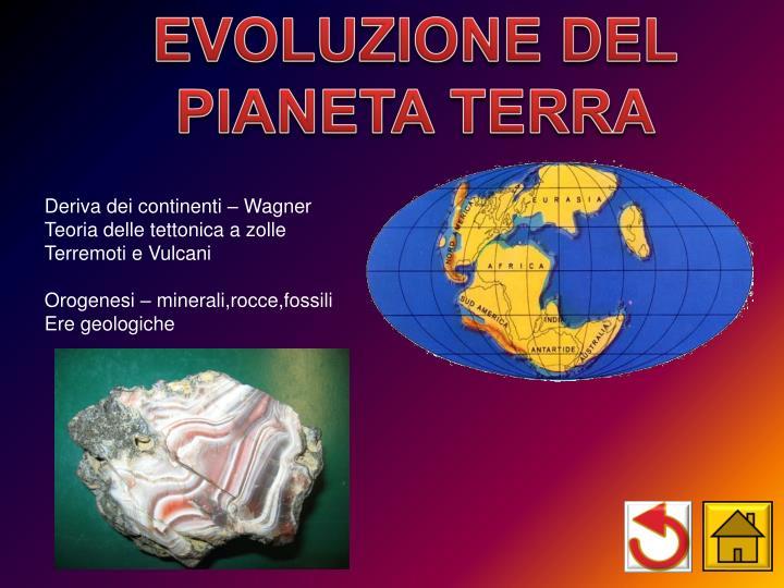 EVOLUZIONE DEL
