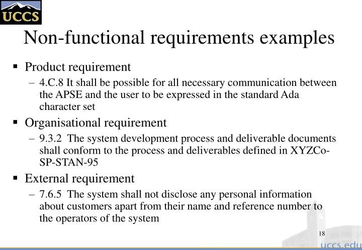 PPT Lecture Notes PowerPoint Presentation ID - Functional requirements examples