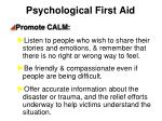 psychological first aid1