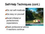 self help techniques cont1