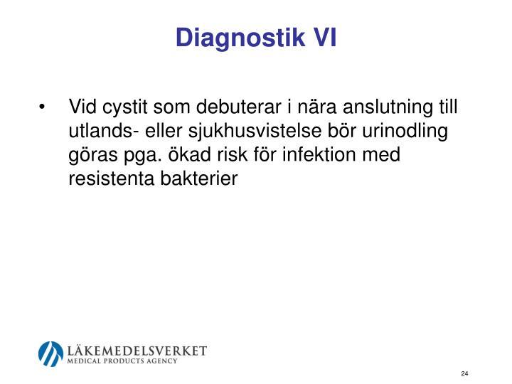 Diagnostik VI