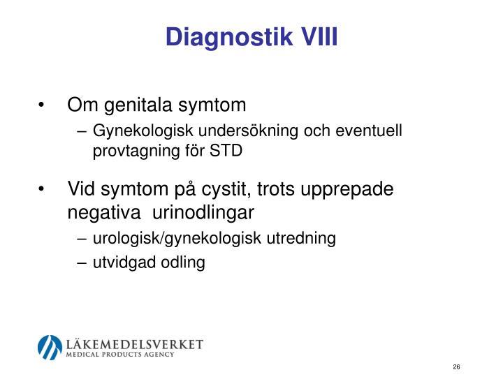 Diagnostik VIII