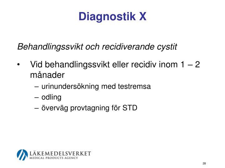 Diagnostik X