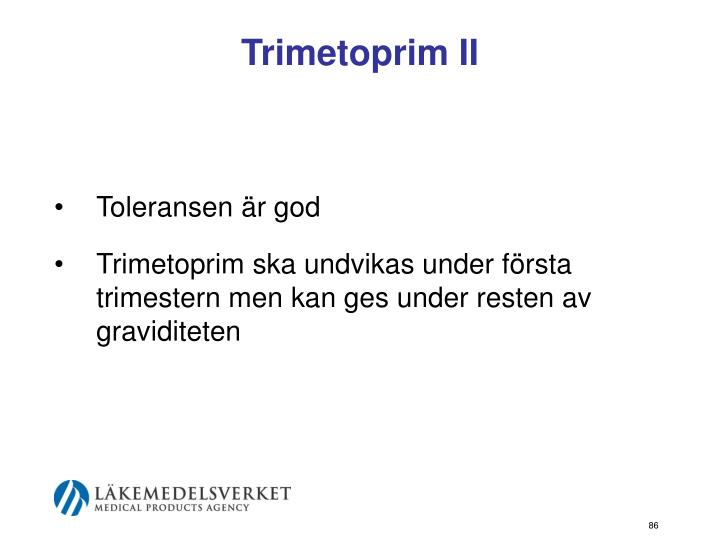 Trimetoprim II
