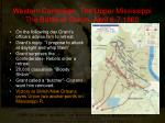 western campaign the upper mississippi the battle of shiloh april 6 7 18622