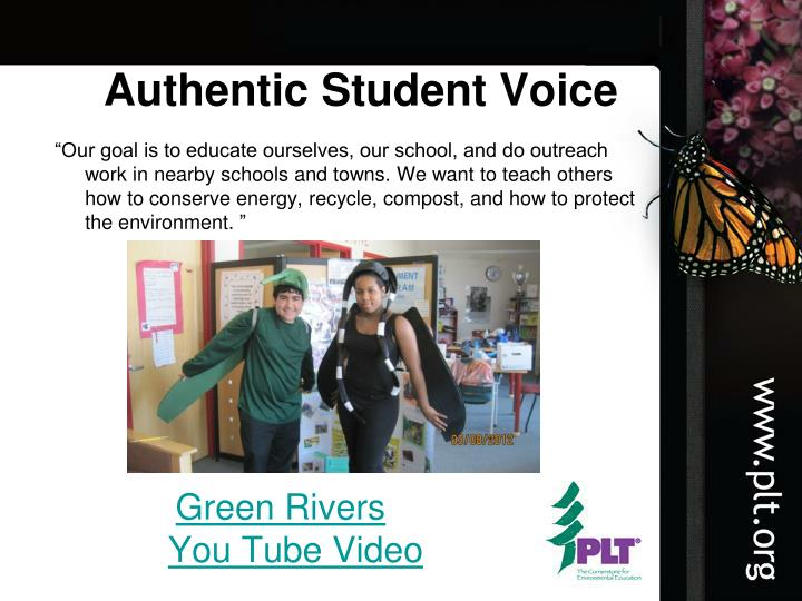 Authentic Student Voice