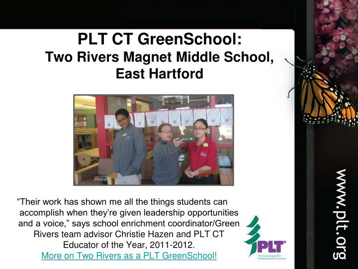 PLT CT GreenSchool: