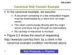 canonical web transfer example