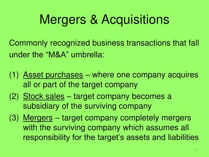 reasons for mergers acquisitions Studies reveal that approximately 40% to 80% of mergers and acquisitions prove to be disappointing the reason is that their value on the stock market deteriorates the intentions and motivations for effecting mergers and acquisitions must be evaluated for the process to be a success.