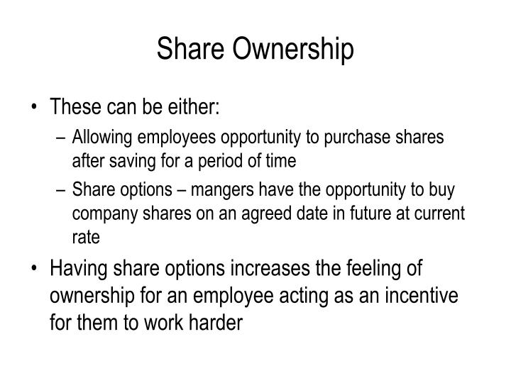 Share Ownership