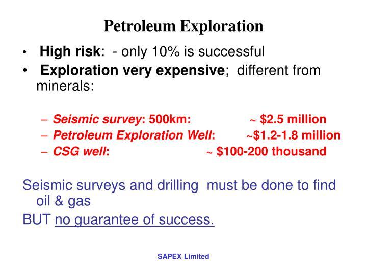Petroleum Exploration