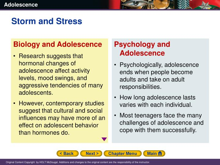 contemporary stressors of adolescence Cognitive, physical, social, emotional and behavioral aspects of 'normal' adolescent development to guide professionals working with adolescents home help  adolescence is frequently portrayed as a negative stage of life—a period of storm and stress to be survived or endured (arnett, 1999)  in the contemporary work world, the.