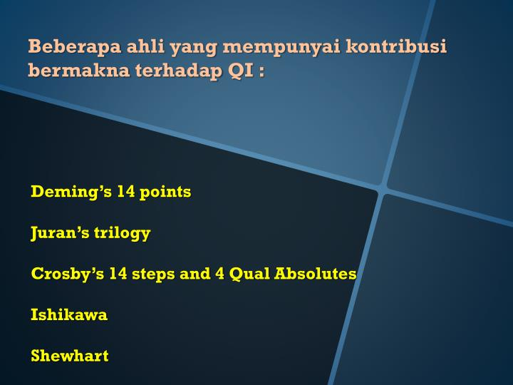 application of deming 14 points to Deming's 14 points on total quality by m obai seif kılıç 28066 views 4 14 points of management 1 create constancy of purpose toward improvement of product and service with improvement of product and service with a plan to become competitive and to stay in business.