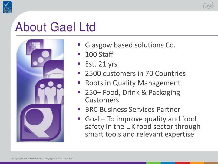 About gael ltd