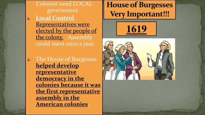 democracy in the colonies Democracy in the colonies essays democracy existed in the colonies in the new world even at the very beginning however some colonies were more democratic than others.